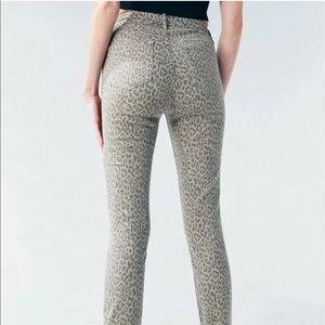PacSun Leopard Print High Waisted Jegging